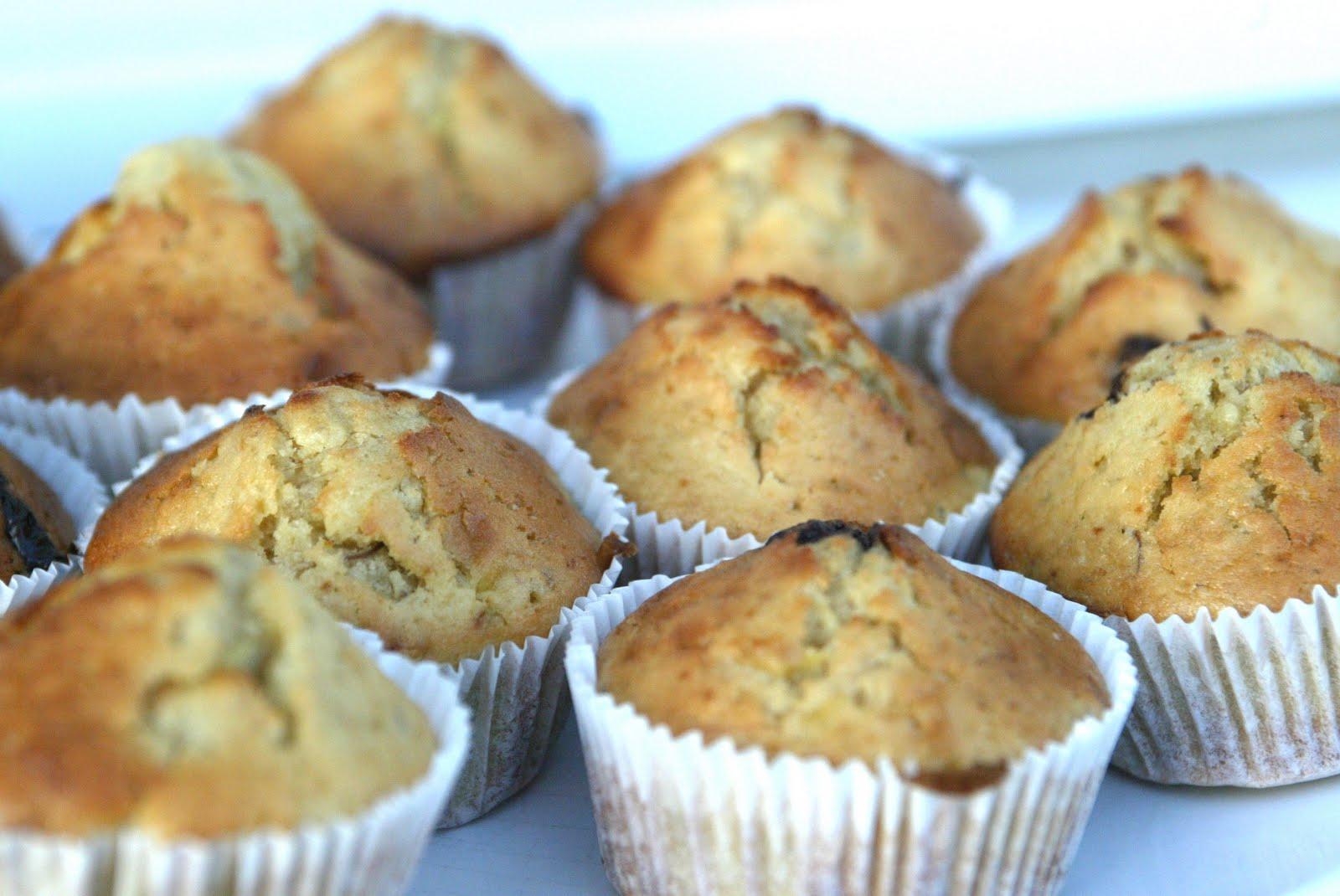 muffin choco banane